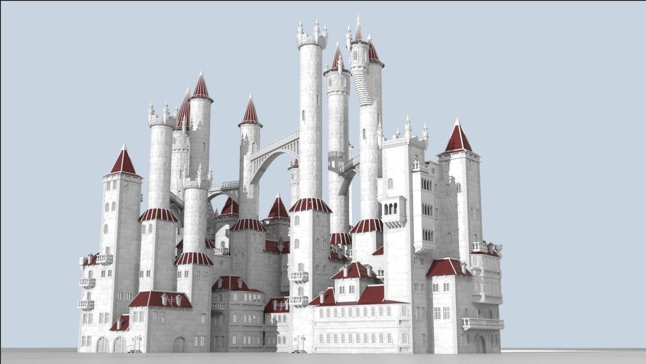 Procedural generator of random castles