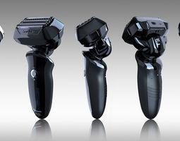 panasonic shaver 3d model ma mb