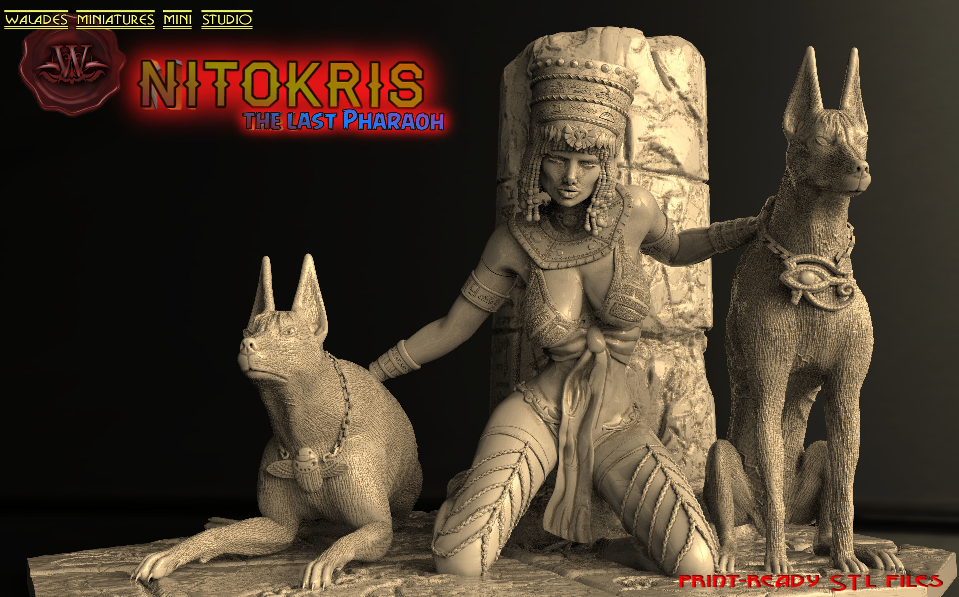 Nitokris the last pharaon