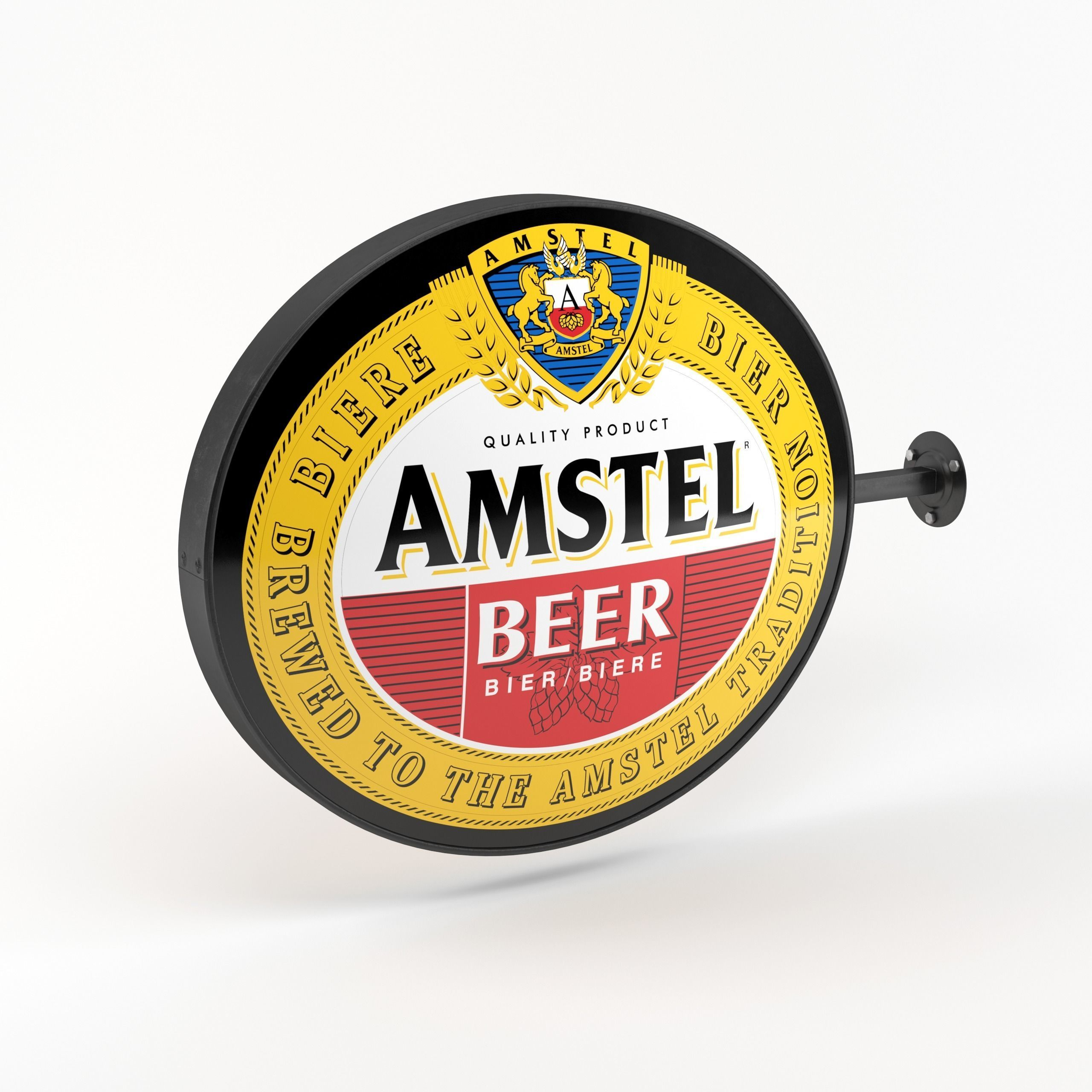 Amstel Beer Wall Sign