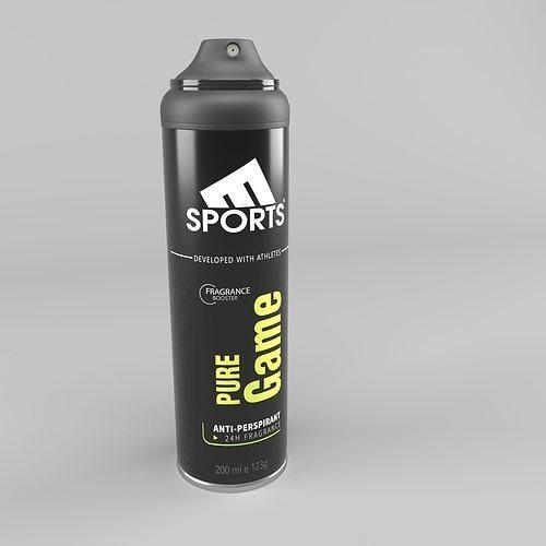 Deodorant can
