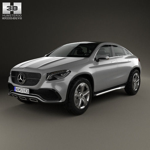 Mercedes benz coupe suv 2014 3d cgtrader for Mercedes benz suv models list