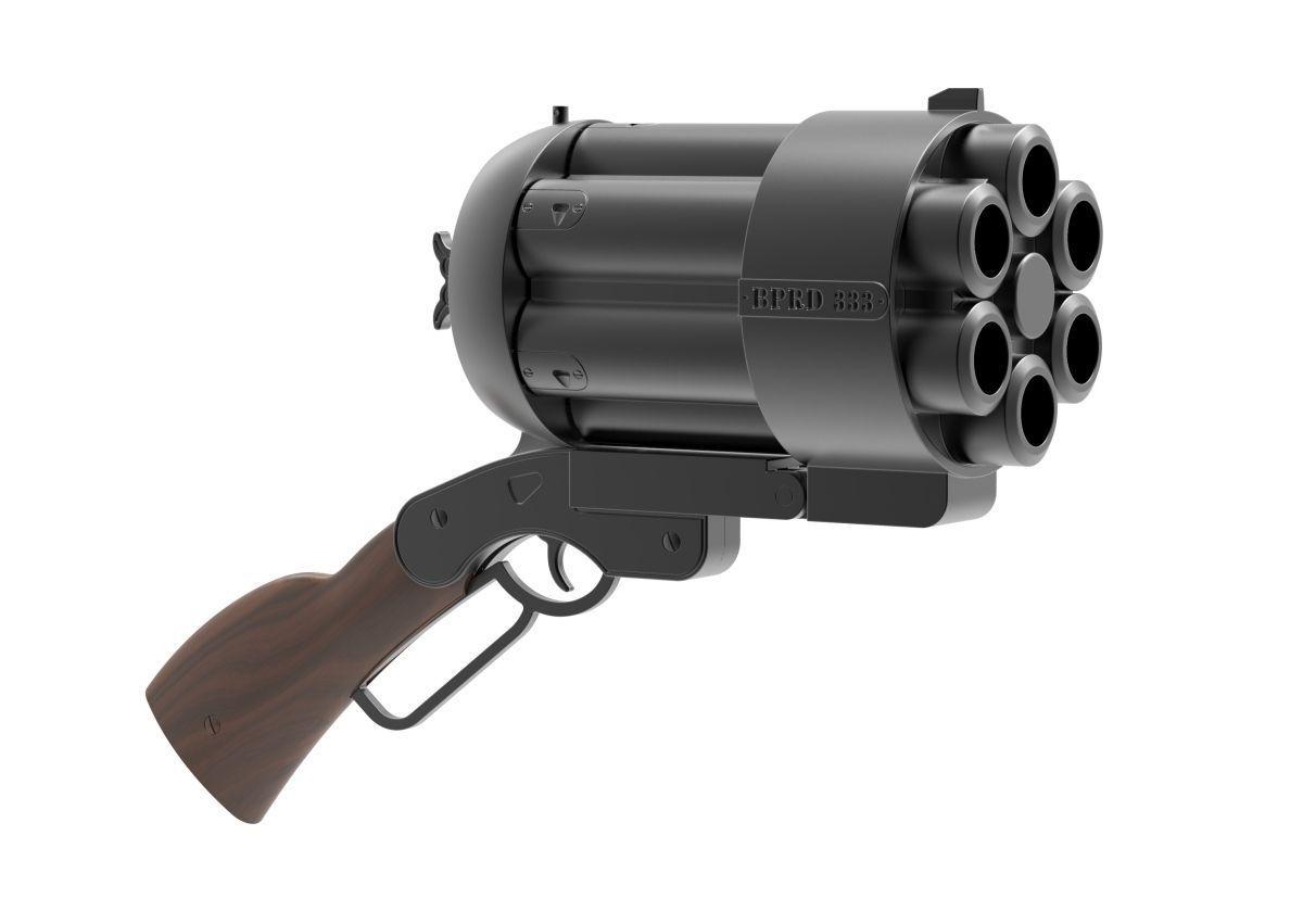 Big Baby Gun Mock Up 3d Model 3d Printable Stl Cgtrader Com