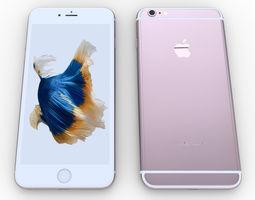 iPhone 6s Plus - original dimensions 3D model
