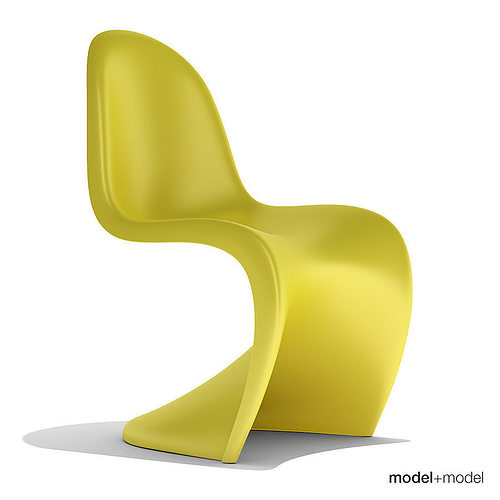 Vitra Panton Chair vitra panton chair 3d model cgtrader