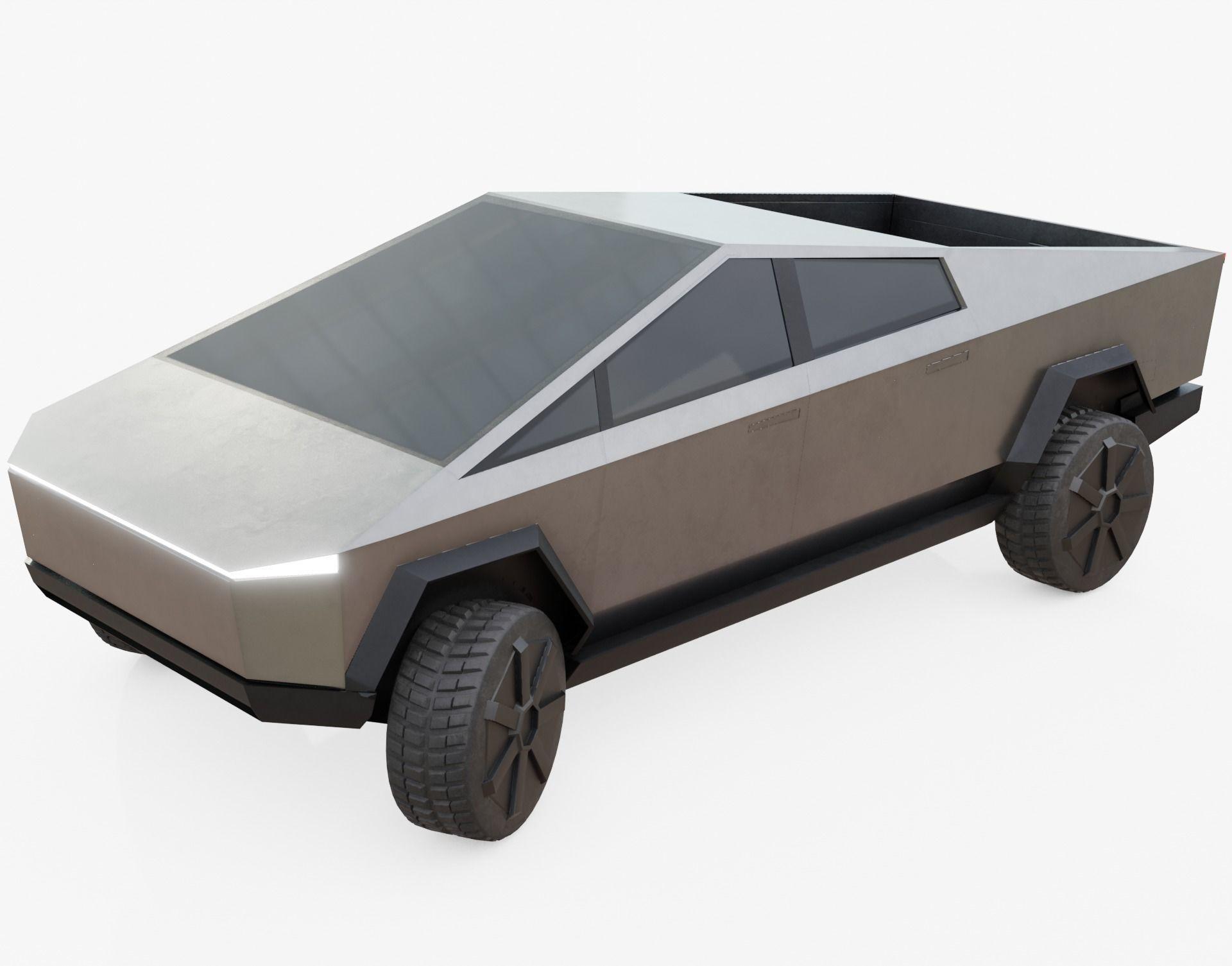 Tesla Cybertruck 3D asset | CGTrader