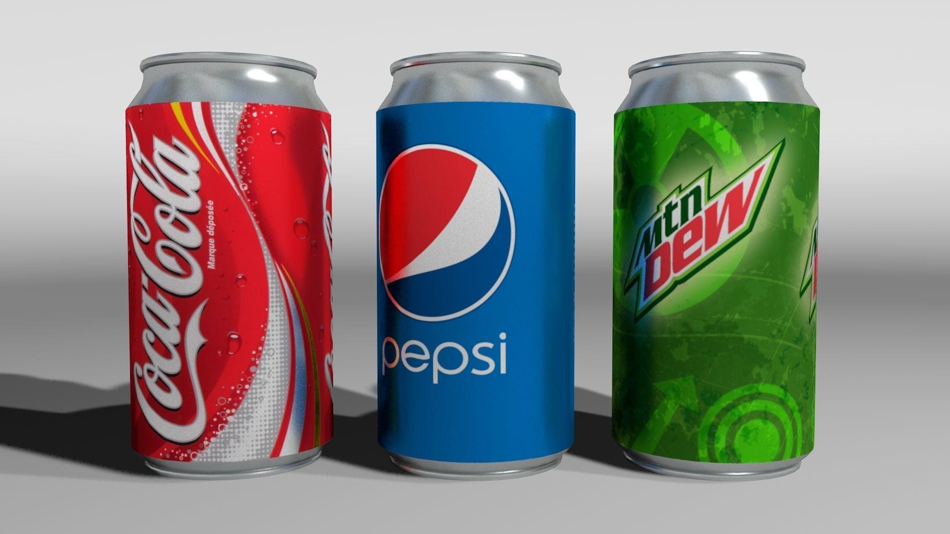 3x 3D Cans