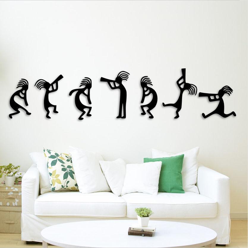 Musicians team wall decoration