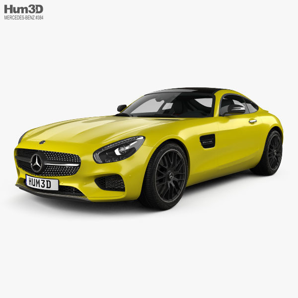 Mercedes-Benz AMG GT with HQ interior 2014
