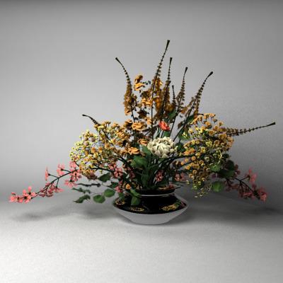 Flower Vase3D model