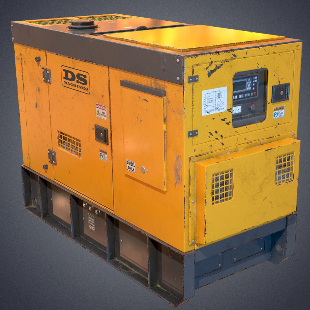 Industrial Power generator 2
