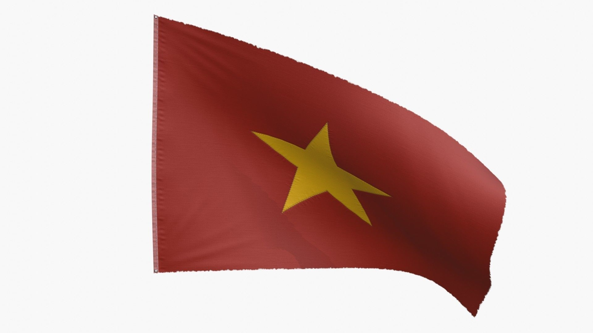 North Vietnam Flag