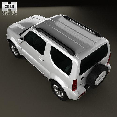 suzuki jimny 2013 3d model max obj 3ds fbx c4d lwo lw lws. Black Bedroom Furniture Sets. Home Design Ideas