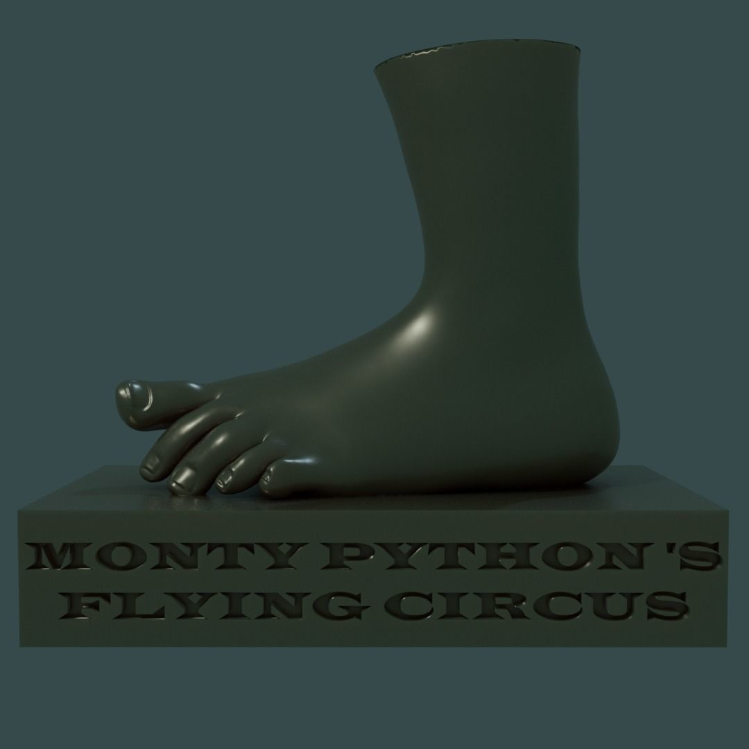 Monty Pythons Flying Circus Foot