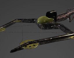 3D asset crossbow