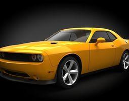 Dodge Challenger SRT8 3D model