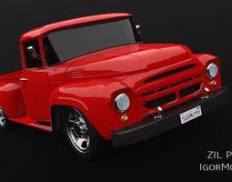 3D asset ZIL 130 Buffalo Pickup