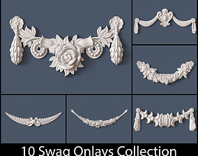 10 Swag Onlays Collection 3D