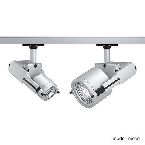 artemide architectural oto track spotlghts 3d model rigged max obj mtl fbx mat 1