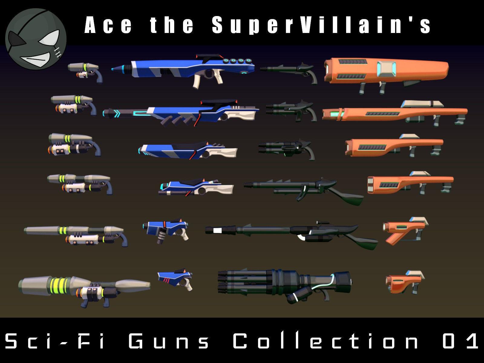 ASV SciFi Guns Volume 01