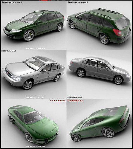 the-finest-cars-pack-collection-3d-model