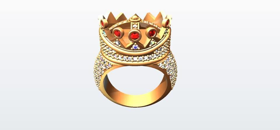 Tupac personally designed ring