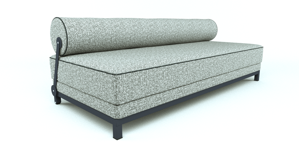 Twilight Sleeper Sofa 1999 3d Model 3ds Fbx Dae Skp