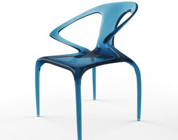 Roche bobois mangrove cocktail table 3d model game ready - Chaise ava roche bobois ...