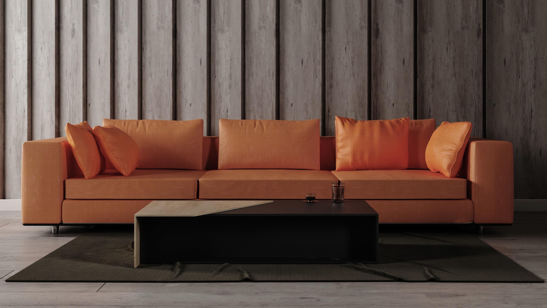 3D model color Sofa Set - Home Furniture 09 | CGTrader