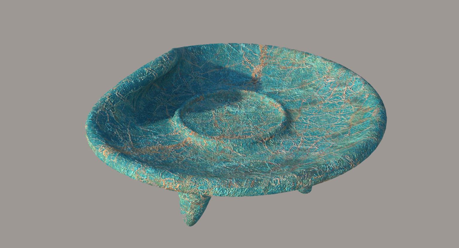3D model Deform Old Plate   CGTrader