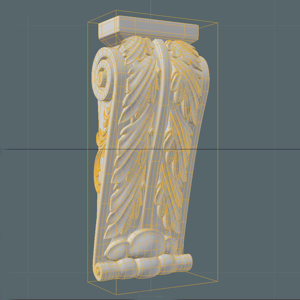 Decorative Corbels 2 3d Model Max Obj Fbx C4d Ma Mb Dae
