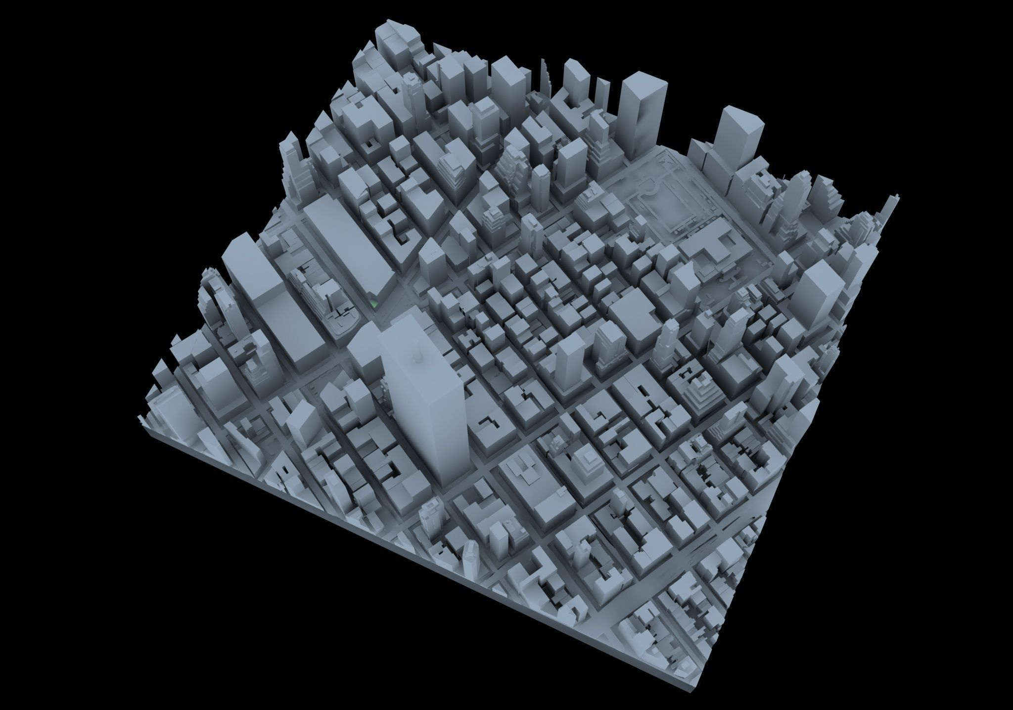 New York City model puzzle