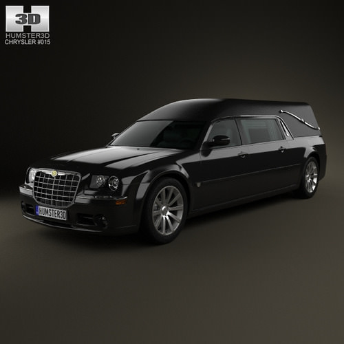Black 2005 2006 2007 2008 2009 2010 Chrysler 300c: All-3dmodels.com-Sharing 3D Models Flawlessy Through All