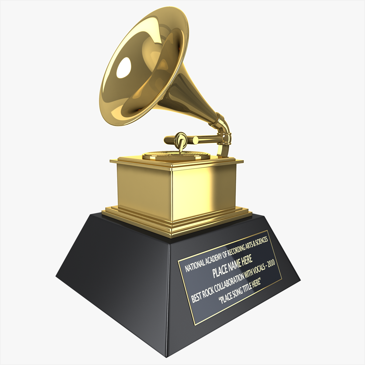 Grammy Award Model Max Obj Lwo Lws