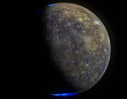 3d mercury 8k