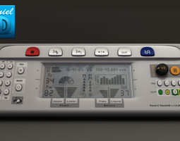 Electric Control Panel 3D model