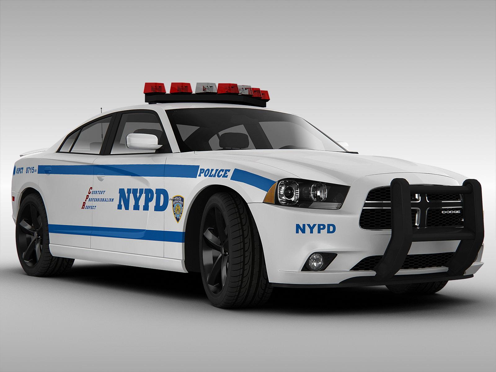 dodge charger nypd police car 2013 3d models. Black Bedroom Furniture Sets. Home Design Ideas