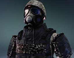 Paramilitary 2 3D Model