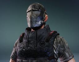 Paramilitary 4 3D Model