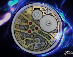 Watch mechanism 3D cog