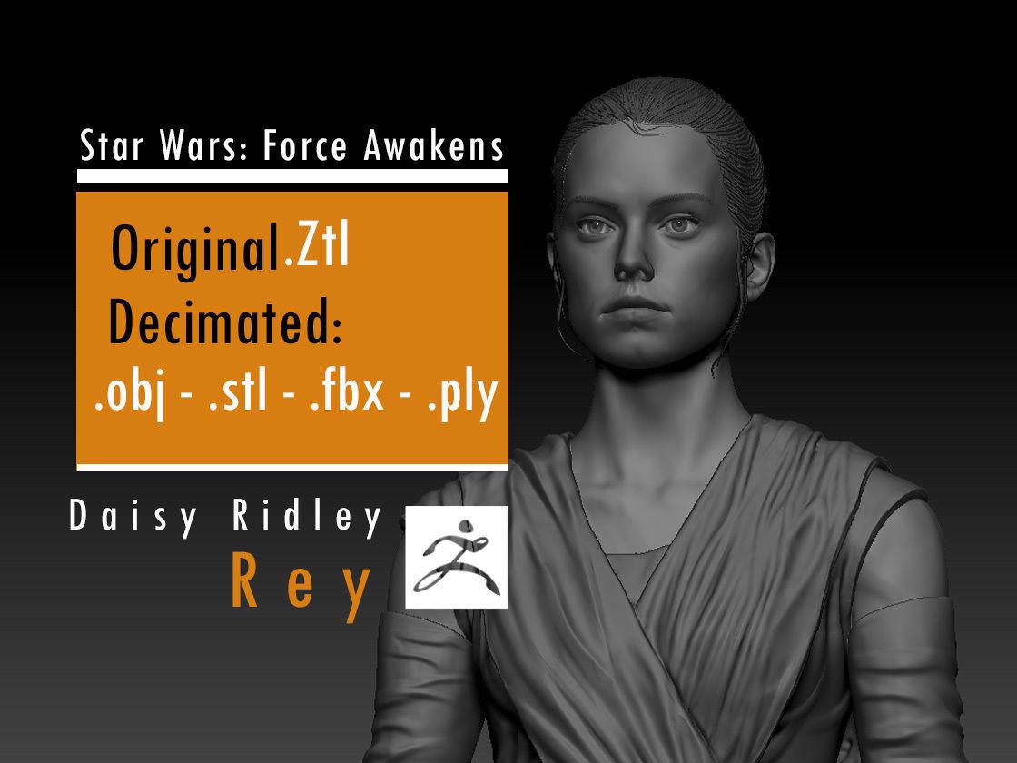Daisy Ridley - Rey - Star Wars