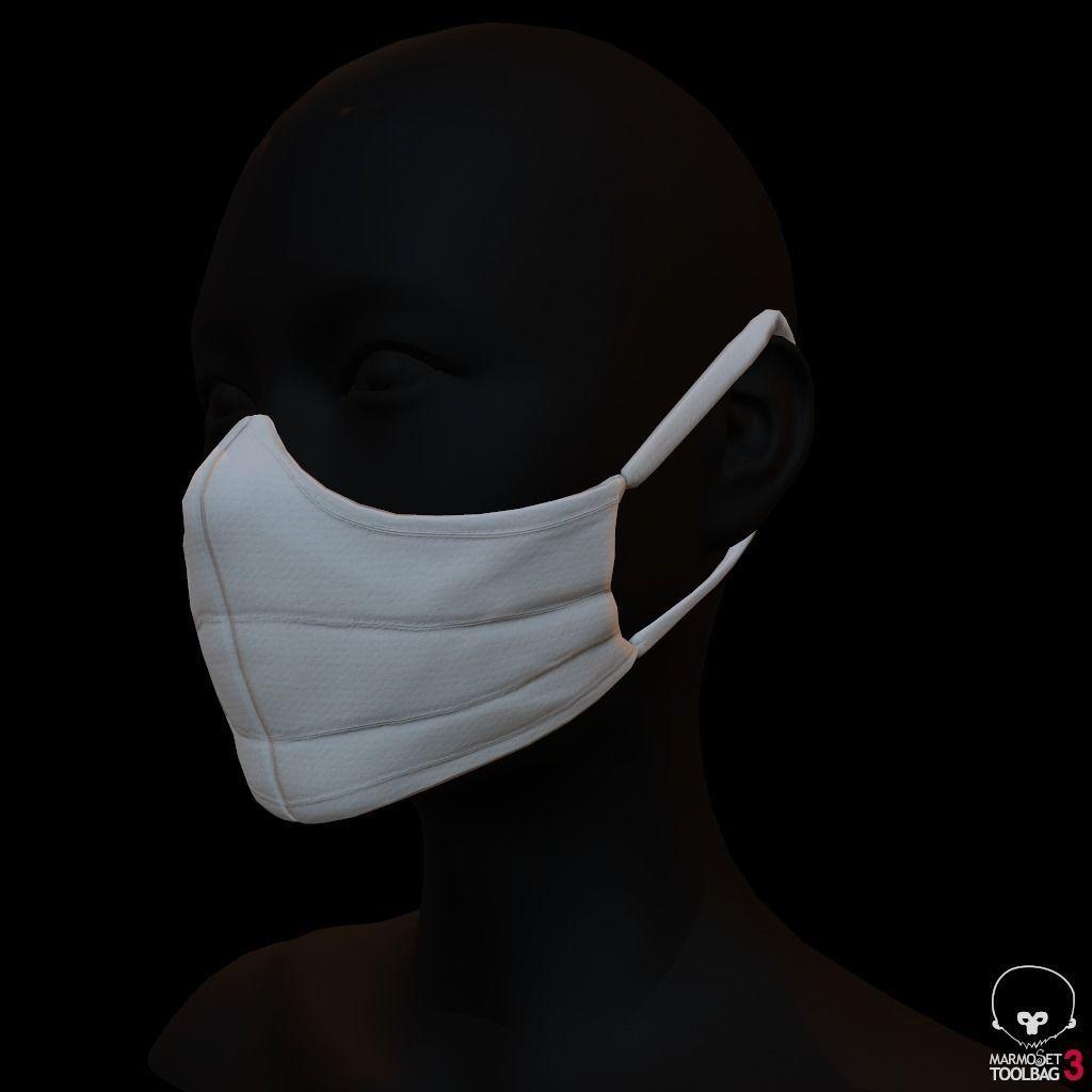 Diy corona protection mask
