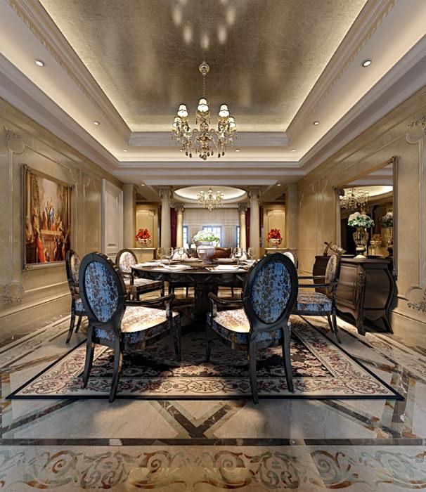 Elegant dining rooms collection 10 3d models 3d model max for Dining room 3d model
