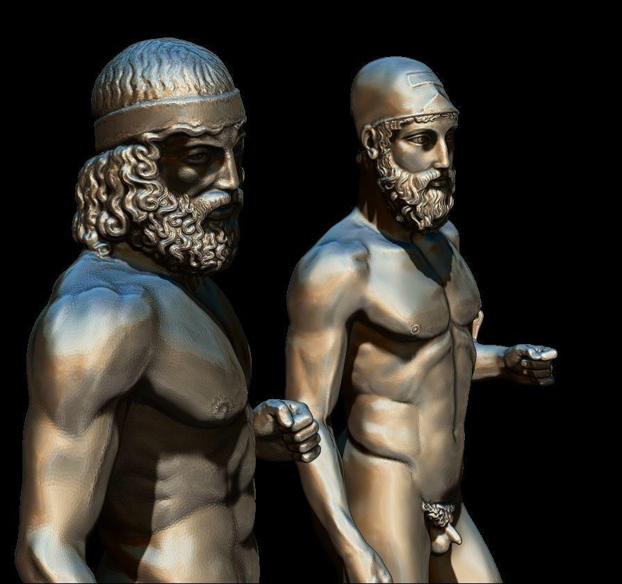 riace bronze warrior