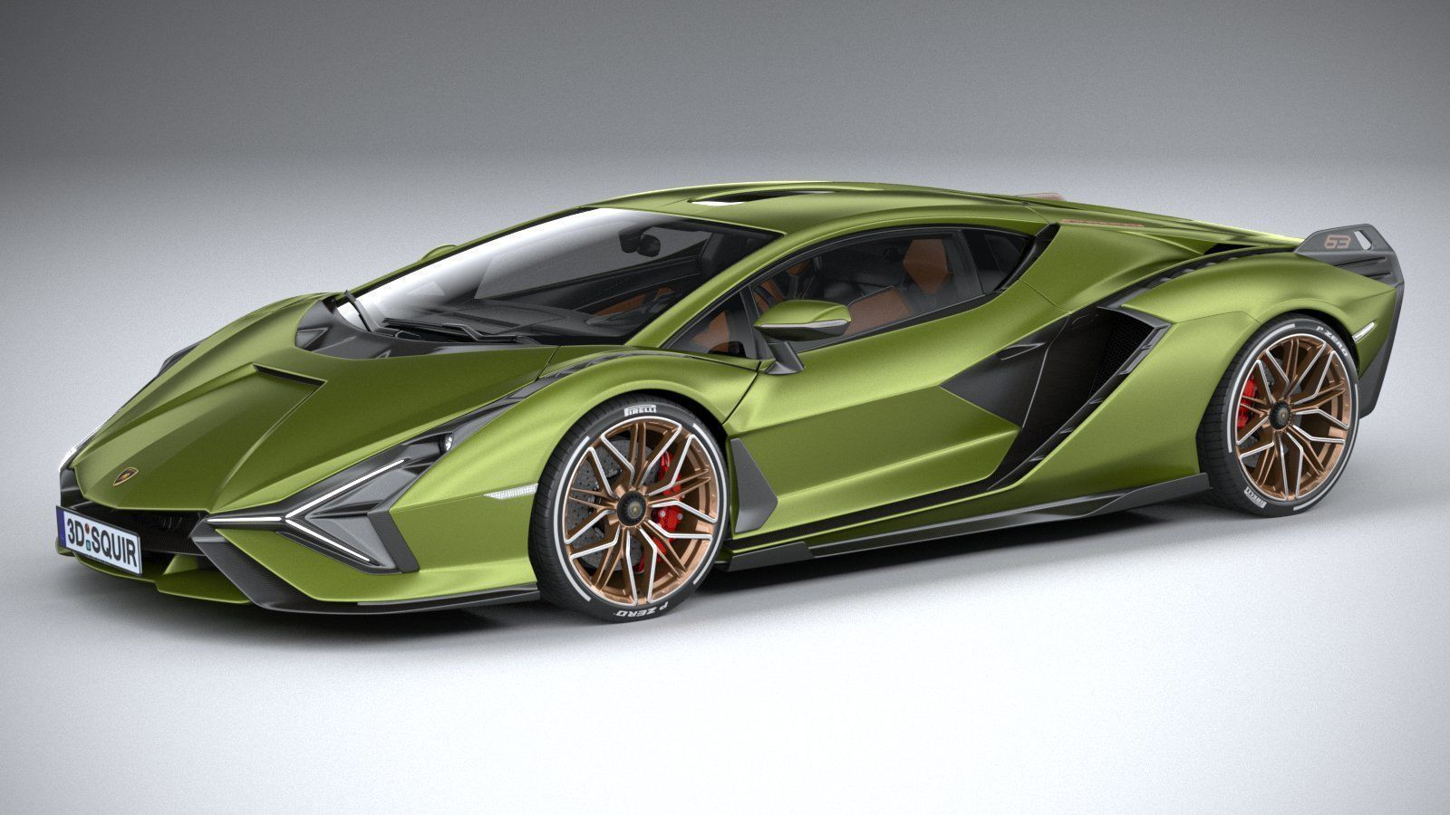 Lamborghini Sian 2020 3D model | CGTrader