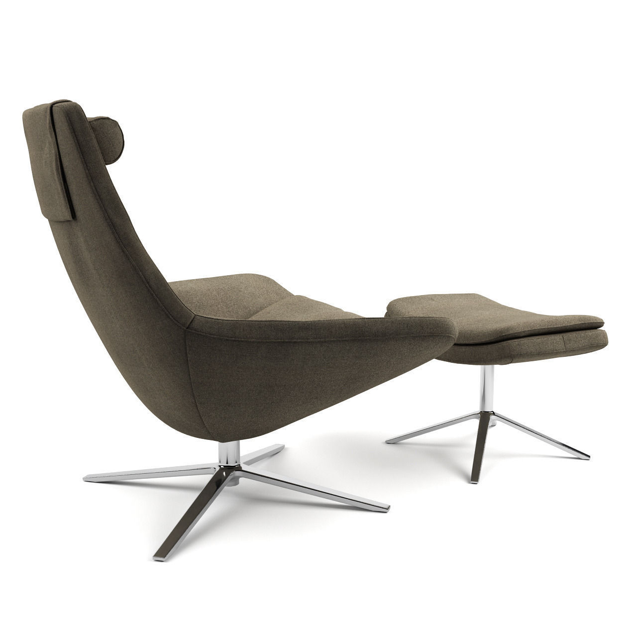 metropolitan armchair by bb italia 3d model max obj fbx. Black Bedroom Furniture Sets. Home Design Ideas