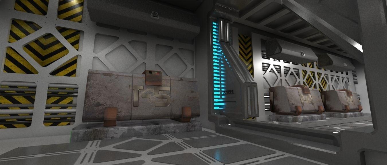 Spaceship indoor