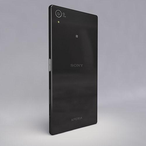 sony z5 premium. sony xperia z5 premium black 3d model max obj fbx c4d mtl 10 c