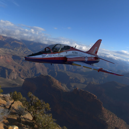 Hawk aircraft game