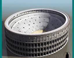 ROMAN COLISEUM 3D Model